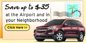 Save Up to $35 at the Airport and in your Neighborhood.