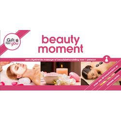 GFY Beautymoment voor een
