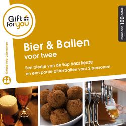 GFY Bier en Ballen voor twee