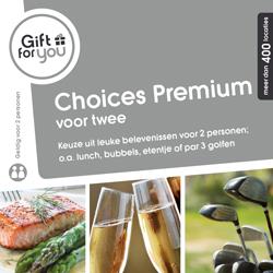 Korting GFY Choices Premium voor twee