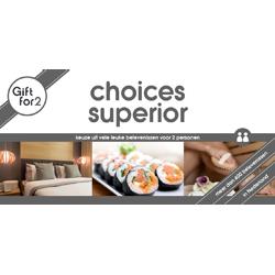 Korting GFY Choices Superior voor twee