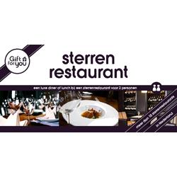 GFY Sterrenrestaurant voor twee
