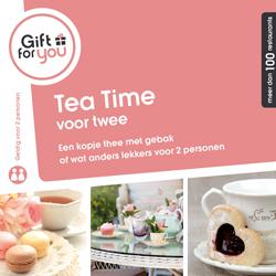 Korting GFY Tea Time voor twee