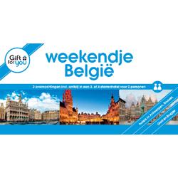 Korting GFY Weekendje Belgie voor twee Gent