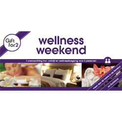 GFY Wellnessweekend voor twee