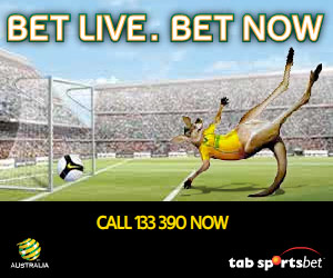 Soccer bet poster