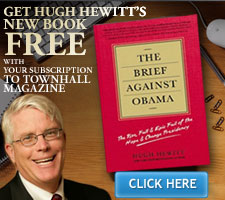 Get Hugh Hewit's New Book FREE!