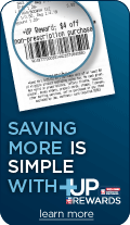 Saving more is simple with +UP rewards.  Learn more.