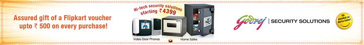 Assured Flipkart Voucher upto Rs. 500 Purchase of Godrej Product on Flipkart